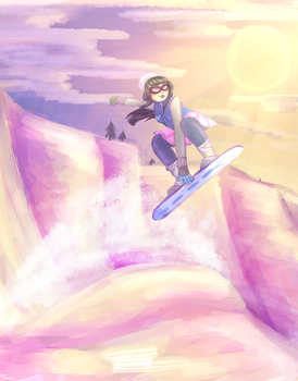 Snowboarding with Integrity by Antimentalist