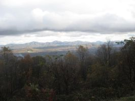 Looking out from Monticello by skystears