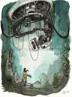 GLaDOS is Still Alive by Saph-y