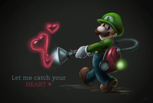 Let me catch your heart by JVKIllustrations