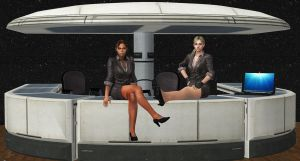 Jill and Sheva-SECRETARIES by blw7920