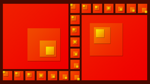 Red Squares by Manshonyagger