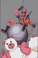 Deadpool wrecking ball by shinlyle