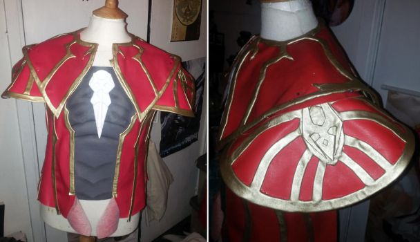 Gabriel Belmont Cosplay progress by nanahara7