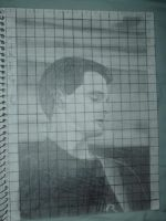Greg K of the Offspring (drawn in 2003) by MelyssaThePunkRocker