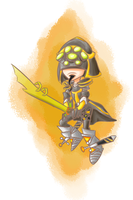 Master Yi by YourMeltedCrayons