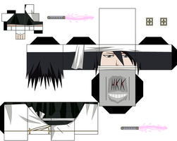 Byakuya new look by hollowkingking