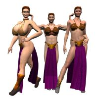Slave Leia Cosplay by Chup-at-Cabra