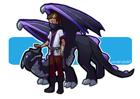 How to Train Your Ender Dragon by Cerebrobullet-art