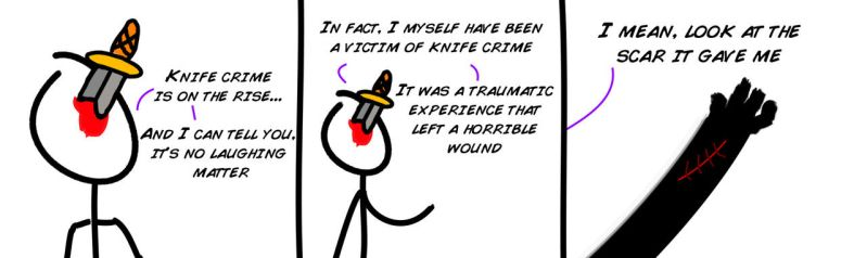 KnifeFace VS Knife Crime by Macmilligan
