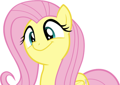 Fluttershy Cheery by TwilightShadowArt