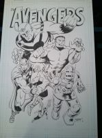 Avengers by WestStudio3