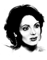 Lana Parrilla Digital by dragonhope