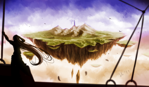 New Lands by Juh-Juh