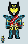 Chibi Rider sprite - Drive (Type Special) by Malunis