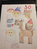 Rudolph 50th anniversary by Simpsonsfanatic33