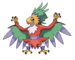 Hawlucha Evo by Ironwolf09