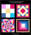 Quilt templates parameter pack by Velvet--Glove