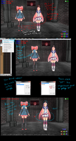 MMD Tutorial Transparent textures and stages by MMD3DCGParts
