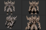 Diablo prime evil in progress by DragonisAris