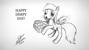 Happy Derpy Day! by Dori-to