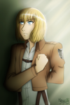 Armin Arlert :: February Challenge - DAY 07 by Nabuco88