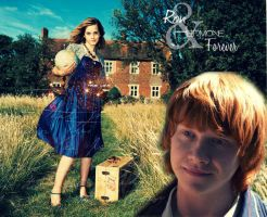 Hermione and Ron. Forever by MarySeverus