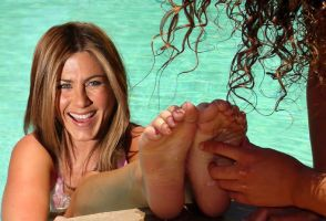 Jennifer Aniston Tickled Fake by MikeTickler