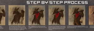 Rabbit Painting - Step by Step by ChaserTech