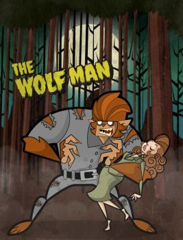 The wolfman...now in color by kungfumonkey