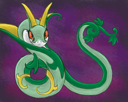 Serperior by MeemzCat