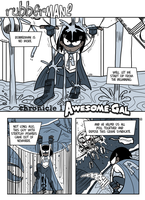 COMIX RubberMan Page 01 by theEyZmaster