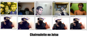 People's reaction to Kakashi on Chatroulette by SamhainKWC