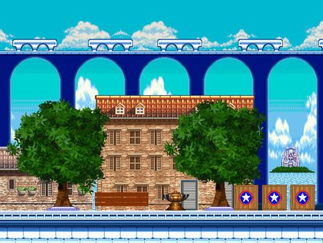 Sonic 2006 - Soleanna Castle Town by SonicLevelDesigner