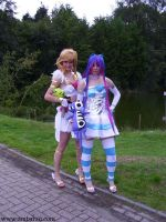 Panty and Stocking Angels by Kythana