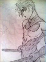 Trying to draw Nightwing... by Grim-Wing