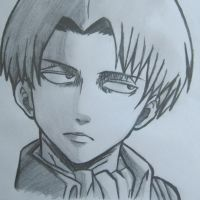 Captain Levi From Attack On Titan by UltimateGOKUX