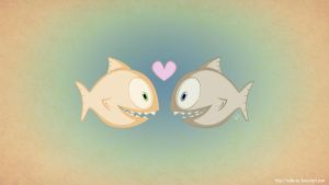 Piranha Love by KellerAC