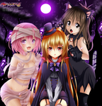 To Love Ru Collab Halloween Special by NickLeon5