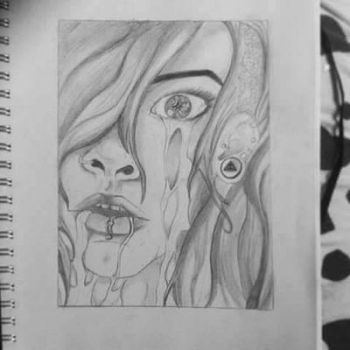 abstract drawing  by andiaherself