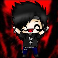 Andy Sixx Chibi by AngelNightmare1441