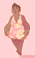 john in a dress.png by R-WOLFE