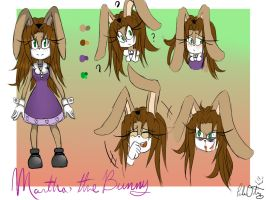 OC Martha the Bunny by P3RLITA