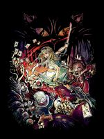 Alice in Zombieland by alicexz