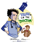 DOCTOR WHO vs SCRUBS 01 by Frederic-Mur
