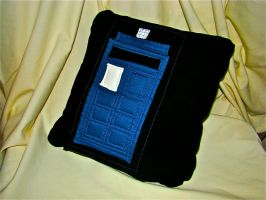 TARDIS Pillow by lost-in-twos
