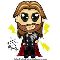 Thor Super Deformed by fahmifahmifahmi