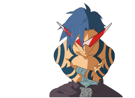 Kamina WIP update by ChompehXD