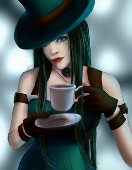 Caitlyn Rebel Green by Kc-mishi