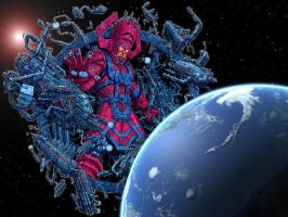 Galactus by espaidercito